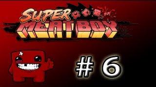 Jugando al Super Meat Boy Por Caras! Parte 6 ( Mapas oscuros tambien NOOOOOOO.... )