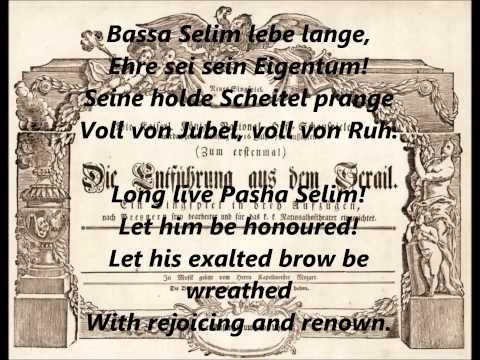 Die Entführung aus dem Serail (The Abduction from the Seraglio) FINALE -  Wolfgang Amadeus Mozart
