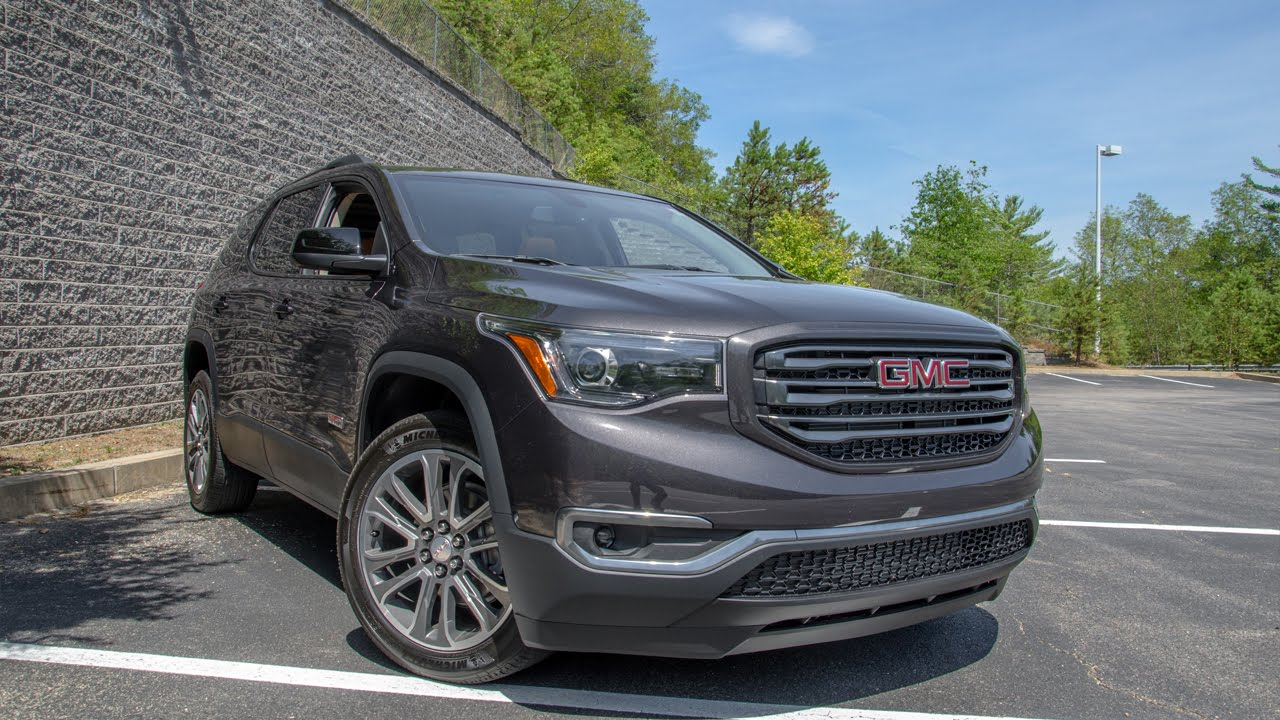 2017 gmc acadia all terrain this is it youtube. Black Bedroom Furniture Sets. Home Design Ideas