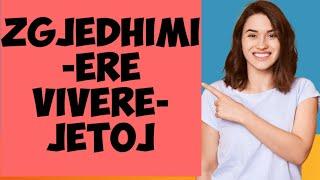Gjuha italiane.mesimi nr 21. Zgjedhimi i dyte ERE.zgjedhimi i foljes VIVERE