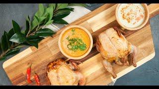 Дуэт цыплят-корнишонов, фаршированных разными начинками | Кухня по заявкам