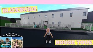 My Roblox BLOXBURG MANSION House Tour, Secret Basement, Game Play Tutorial | Bella Mix