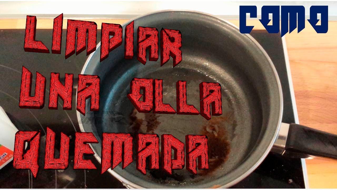 Como limpiar el una cazuela quemada con sosa caustica - Cazuelas de cobre ...