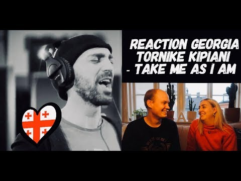 GEORGIA / EUROVISION 2020 REACTION / TORNIKE KIPIANI - TAKE ME AS I AM 🇬🇪