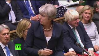 LIVE: Theresa May returns to PMQs after summer recess