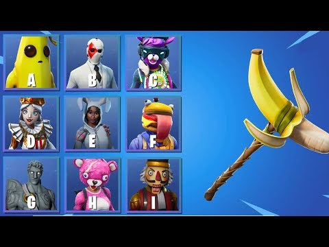 GUESS THE SKIN FOR HER PICKAXE   Ultimate Fortnite Quiz #3