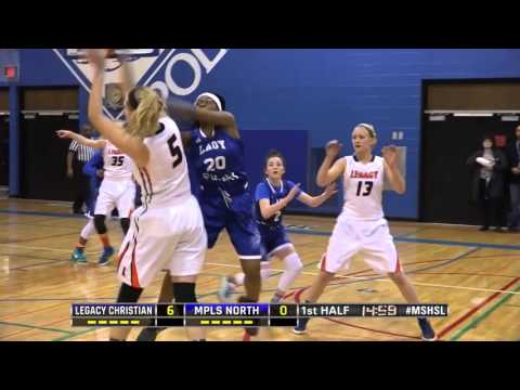 High School Girls Basketball: Legacy Christian Academy vs. Minneapolis North