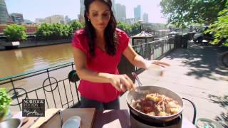 This video is from the norfolk foods campaign. to cook mongolian lamb stir-fry marinate pieces in a mix of soy sauce, sugar, bi-carb soda, cornflour...