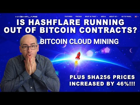 Is Hashflare Running Out Of Bitcoin Cloud Mining Contracts? Buy More Power Now Before Its Too Late!
