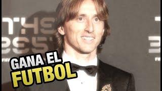 Luka Modric gana The Best y gana el Futbol - Se lo merece por encima de Messi y CR7
