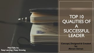 Top 10 Qualities Of A Successful Leader