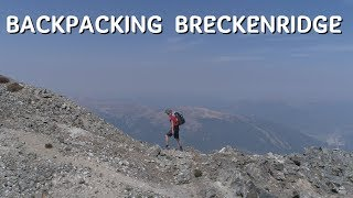 Backpacking Colorado | Breckenridge/Crystal lakes
