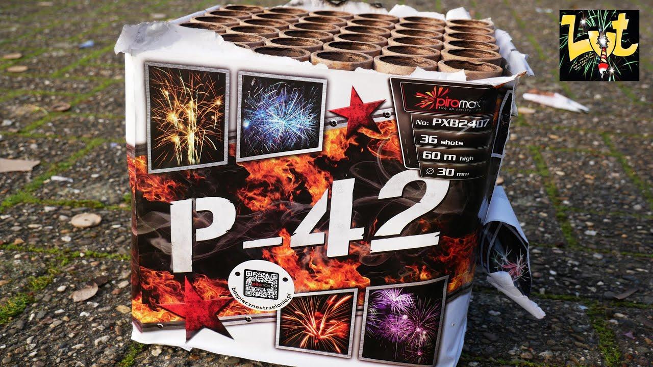 Piromax PXB2407 P-42 36 shots vuurwerk cake