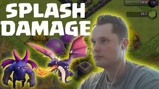[facecam] SPLASH DAMAGE - STRATEGIE || CLASH OF CLANS || Let's Play Clash of Clans [Deutsch HD]