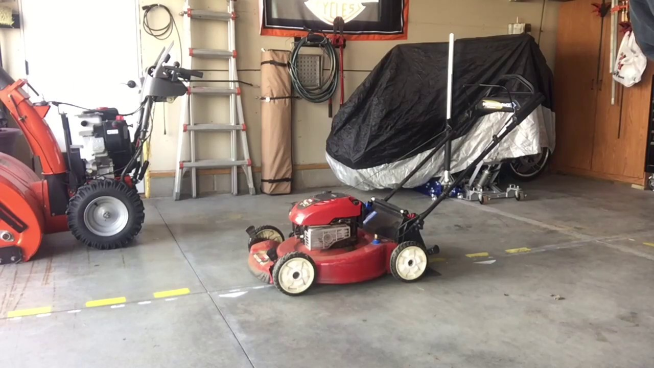 Toro Lawn Mower Oil Change