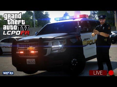 GTA 4 LCPDFR LIVE - Day 13 | LCPD Patrols Algonquin LIVE | LCPDFR 1.1 - 2016 Chevy Tahoe Patrol 🚔