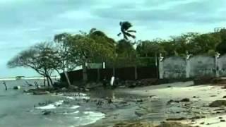 Avanço do mar muda o desenho do litoral brasileiro - Programa Fantástico de 22 de agosto de 2010