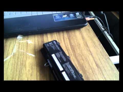 Как зарядить ноутбук без зарядки в домашних условиях samsung