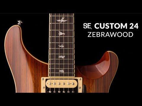The SE Custom 24 Zebrawood   PRS Guitars