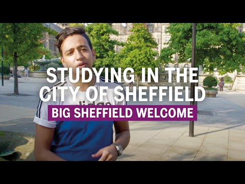 Studying in the city of Sheffield