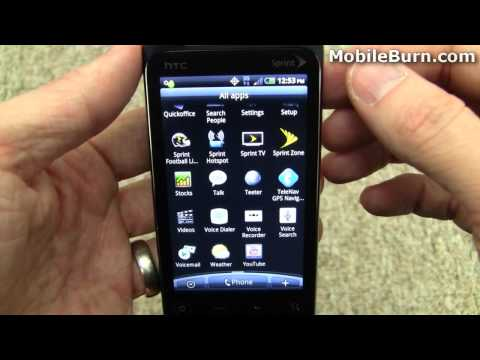 HTC EVO Shift 4G for Sprint review - part 1 of 2