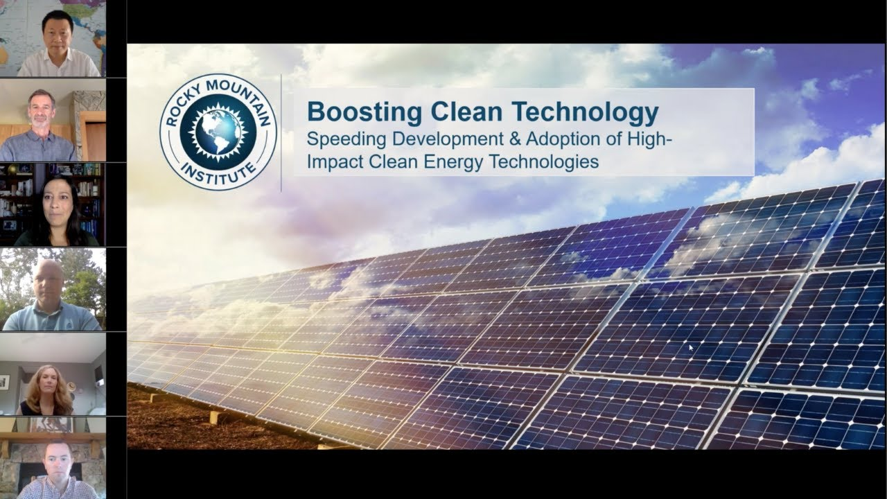Boosting Clean Technology