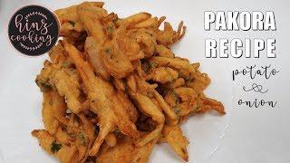 Pakoda recipe - Onion Pakoda - Aloo Pyaz - Ramadan Recipe - Crispy Pakora Recipe - Hinz Cooking