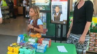 9-Year-Old Girl Scout Gets Counterfeit Money While Selling Cookies Outside