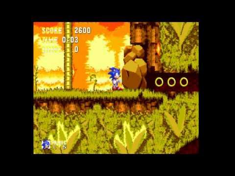 Sonic 3: Angel Island Zone.