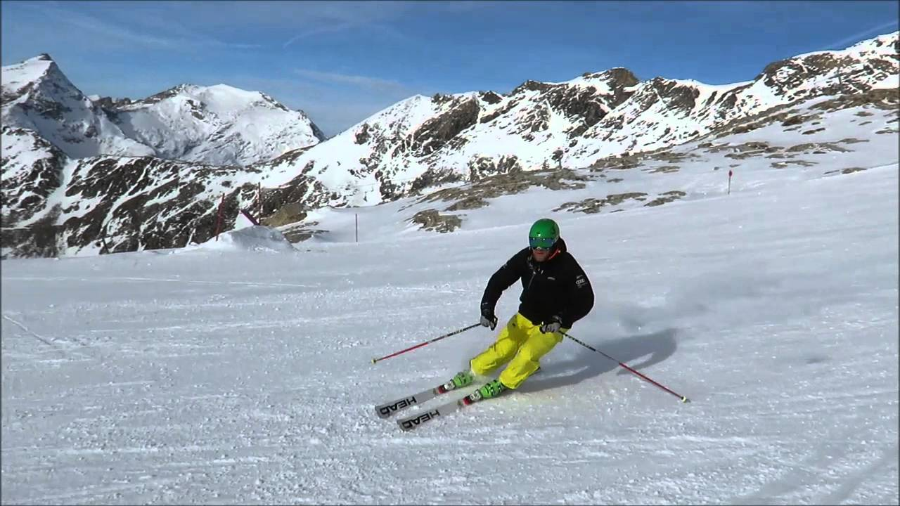 Learn to ski race carving speed like pro