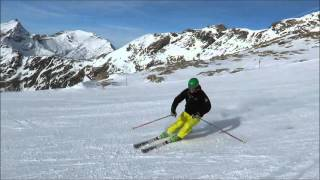 learn to ski race carving, speed carving like pro 2015