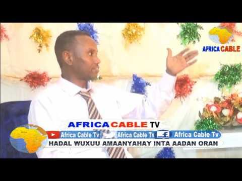 SHAASHAA VS XILDHIBAAN SHARMAARKE WAREYSI XIISO BADAN AFRICA CABLE TV