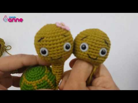 Amigurumi tospik tarifi 1.bölüm - YouTube | 360x480