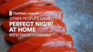 Perfect Nigiri At Home with Taichi Kitamura