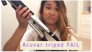 Acuvar tripod fail