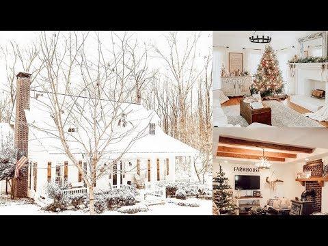DIY Farmhouse Christmas Home Tour 2019 | Authentic Farmhouse Christmas Home Decor Tour |