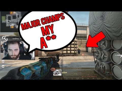 SOM CLUTCHES VS MAJOR CHAMPIONS! HILARIOUS S1MPLE VAC JUMPSHOT! BEST OF TWITCH CS:GO #233
