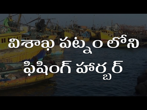 Fishing harbour at Vishakhapatnam