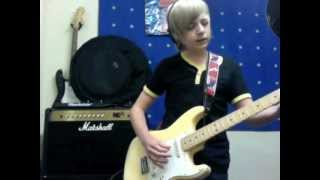 13 year old covers Robin Trower Bridge Of Sighs Cover By James Bell