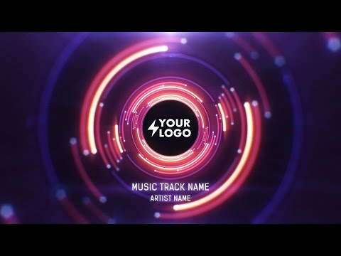 Audio React Tunnel Music Visualizer - After Effects Template by SoundVisible.com