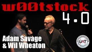 w00tstock 4.0 pt 1 - Adam Savage / Wil Wheaton Intro