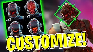 FORTNITE | THE SKIN OF THE FILMING IS CUSTOMIZABLE! -PATCH v 4.4