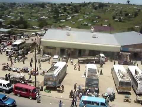Mount Frere aerial video (KwaBhaca) main street