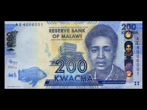 All Malawian Kwacha Banknotes - Reserve Bank of Malawi - 2012 to 2014 in HD