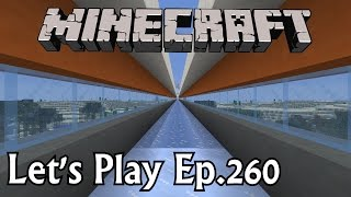 Minecraft Let's Play Ep. 260- Ice Road Boating