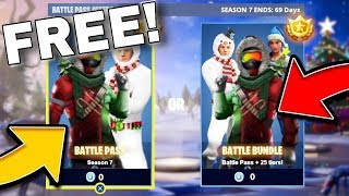 *NEW* HOW TO GET THE FORTNITE SEASON 7 BATTLEPASS FOR FREE! (FORTNITE SEASON 7 BATTLEPASS LEAKS!)