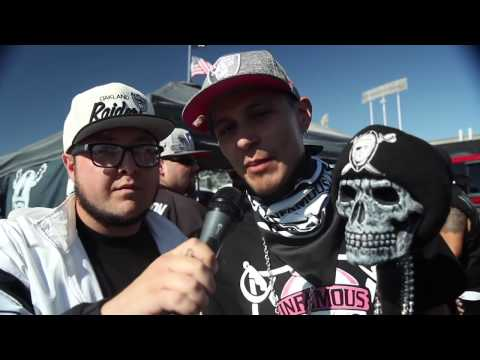Oakland Raiders vs San Diego Chargers 2016 Tailgate Experience I The Black and Silver Way