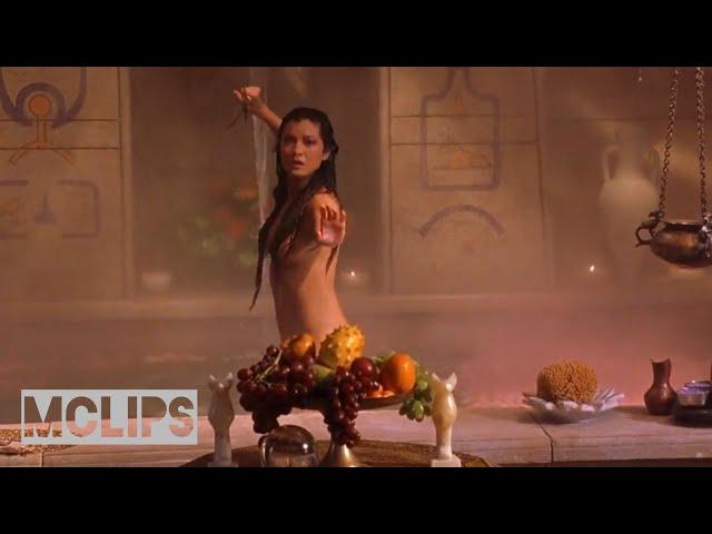 Порно со звездой фильма царь скорпионов