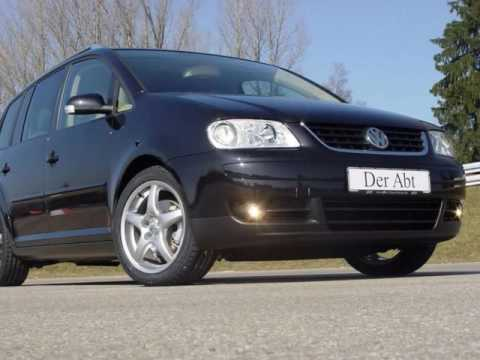 Abt Vw Touran 2003 Youtube