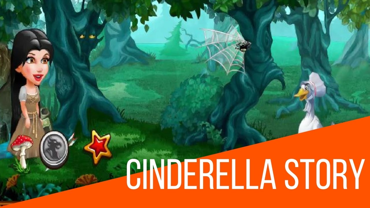 Cinderella Story Games For Kids : Fun games for kids - YouTube